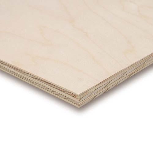 Krydsfinér af birk 125 x 250 cm. Krydsfinér af birk på mål