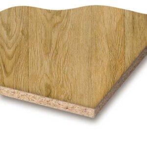 Golden Oak melaminbelagt spånplade
