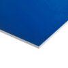 Plastplade blå (folieret) 122 x 244 cm