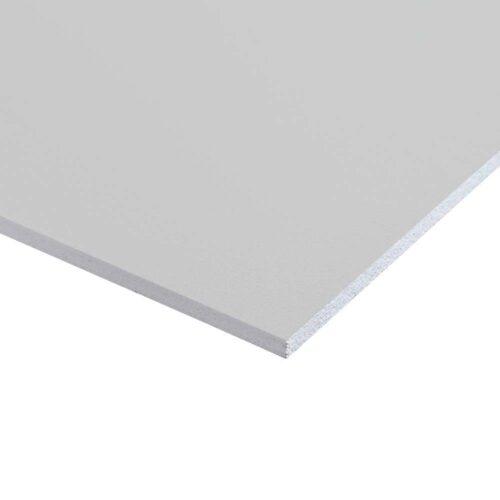 Plastplade grå (folieret) 122 x 244 cm