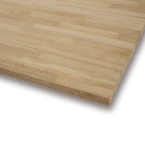 Birk bordplade - fingersamlet og olieret