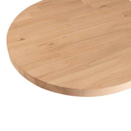 Træplader runde