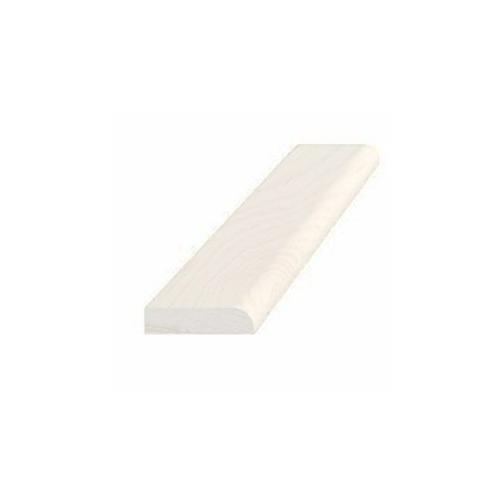 Forkantliste hvid 5 x 21 mm