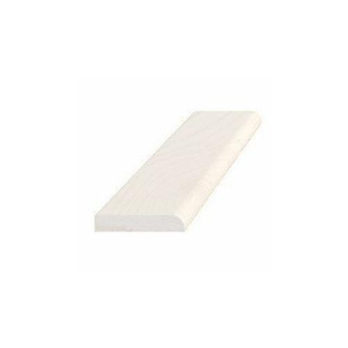 Forkantliste hvid 5 x 27 mm