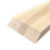 Egetræsvange ubehandlet 18x90x800 mm