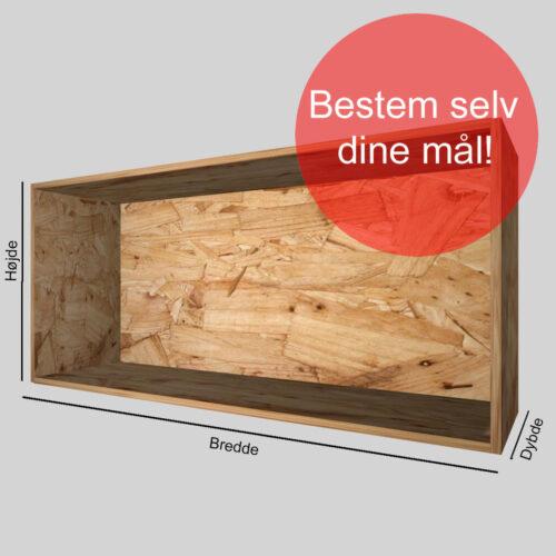 Kasse på mål OSB 15 mm